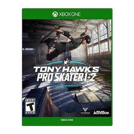 Jogo Tony Hawk's Pro Skater 1 + 2  - Xbox One