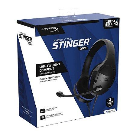 Headset HyperX CloudX Stinger Core HX-HSCSC-BK Ps4
