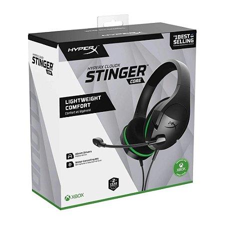 Headset HyperX CloudX Stinger Core HX-HSCSCX-BK Xbox One