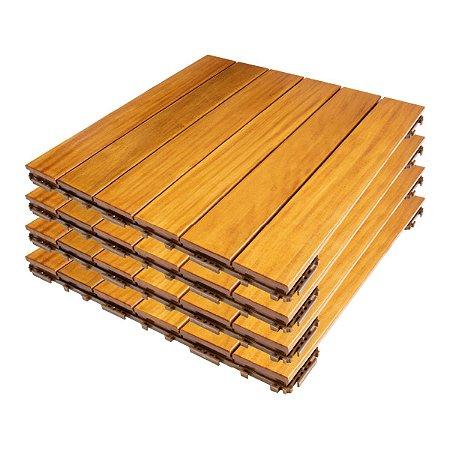 FlexDeck® Búzios – Cumaru – caixa com 4 peças -