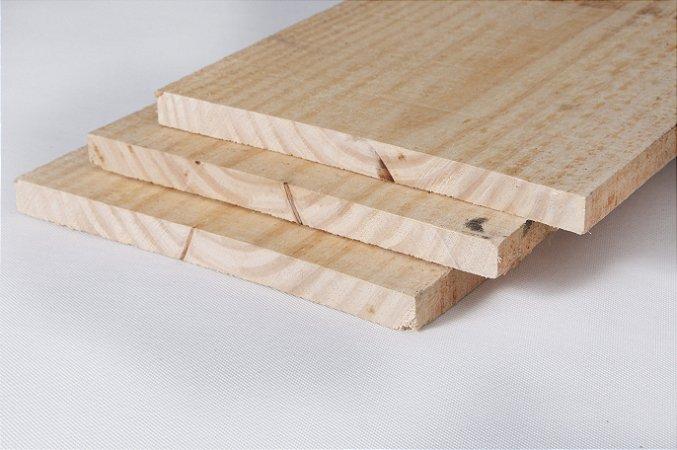 Pinus 30cm x 2,3cm x 3,00m (bruta/seca) – peça