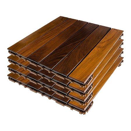 FlexDeck® Búzios – Ipê – caixa com 4 peças