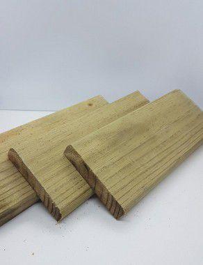 Deck Pinus Autoclavado 9x2x300cm - peça