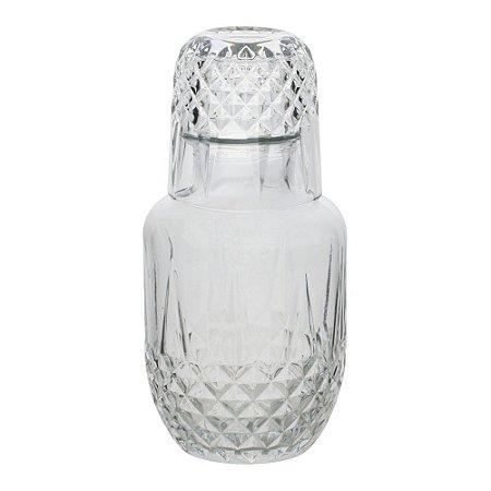 Moringa De Vidro Diamante 500Ml/145Ml