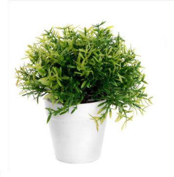 Vaso Decorativo de Plástico com Planta Artificial 23 cm