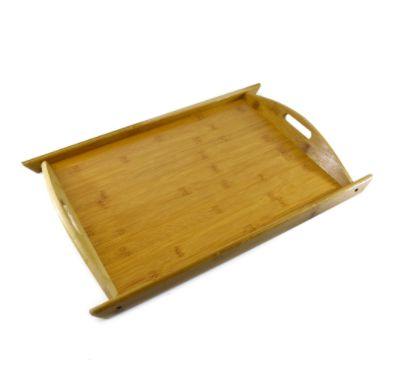 Bandeja de Bambu Retangular 50x33cm