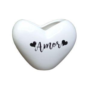 Vaso de Coração 10cm - Amor