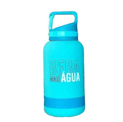 Garrafa Térmica Emborrachada Beba Agua 500 Ml