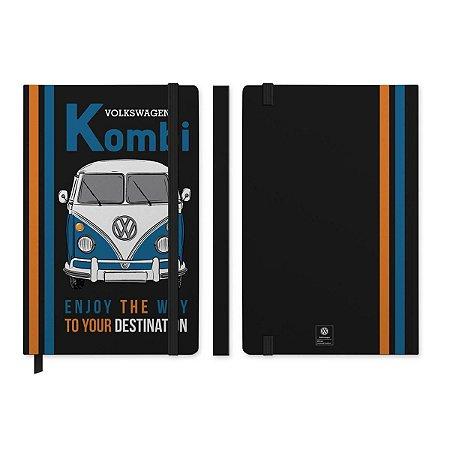 Caderneta de Anotação VW Kombi Preto