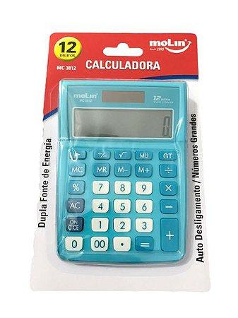 Calculadora 12 Digitos Mc 3812 Molin