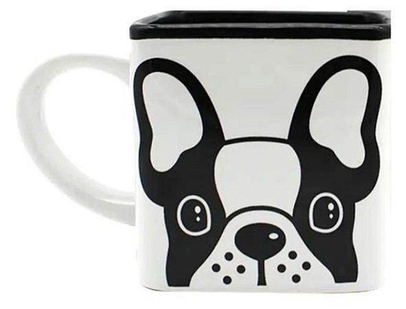 Caneca Cubo Bulldog
