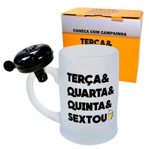 Caneca Campainha Sextou 400 Ml