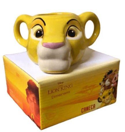 Caneca Rei Leão Simba Disney The Lion King 350ml