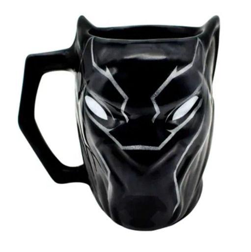 Caneca Porcelana Pantera Negra
