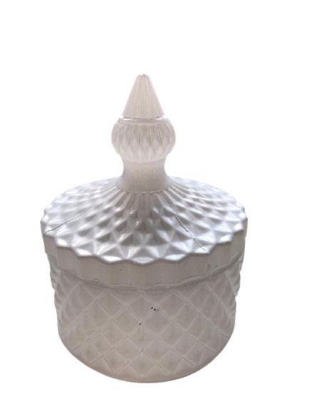 Potiche Decorativo Branco
