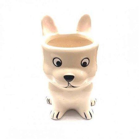 Cachepot - Cachorro em Cerâmica