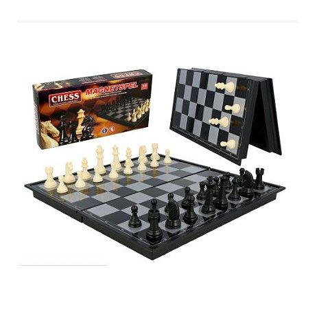 Jogo de Xadrez 20x20 Dobrável Magnético - Magnetspel
