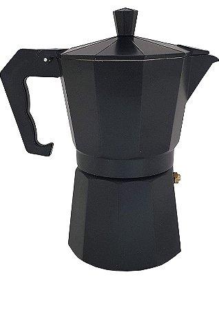 Cafeteira Alumínio Italiana 300ml