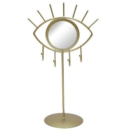 Porta Jóias - Espelho Olho Dourado
