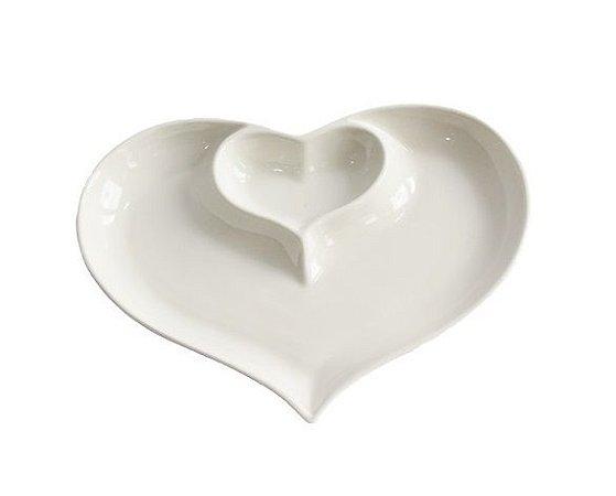 Petisqueira de Coração  27 cm
