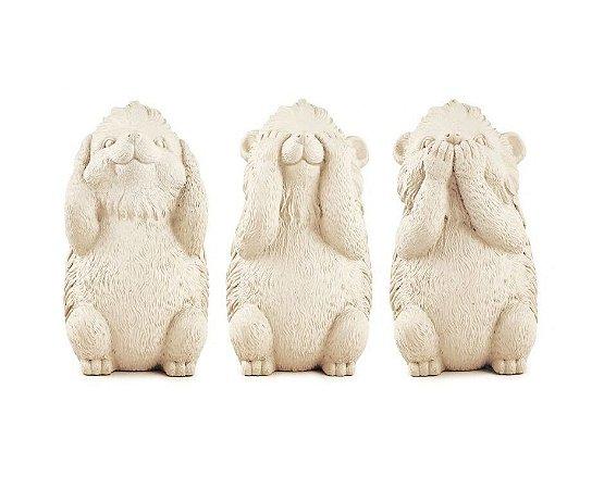 Trio Sábios Porco Espinho