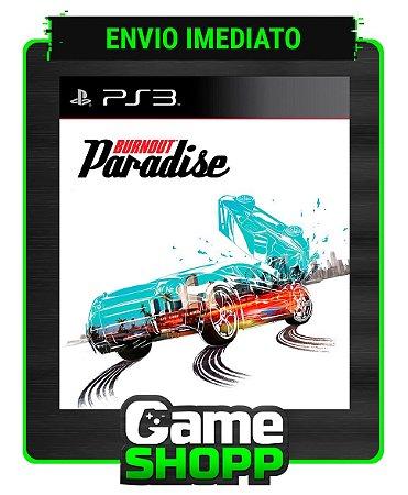 Burnout Paradise - Ps3 - Midia Digital