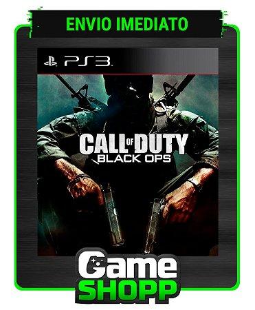Call Of Duty Black Ops 1 - Ps3 - Midia Digital