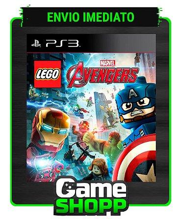 Lego Marvels Avengers - Ps3 - Midia Digital