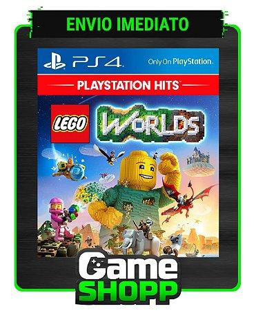 Lego Worlds  - Ps4 - Edição Padrão - Primária