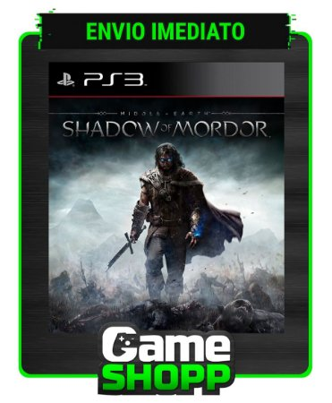 Middle-Earth: Shadow Of Mordor - Ps3 - Midia Digital