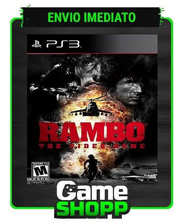 Rambo The Video Game - Ps3 - Midia Digital