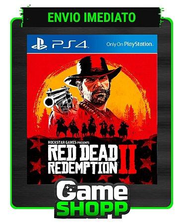 Red Dead Redemption 2  - Ps4 - Edição Padrão - Primária
