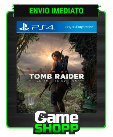 Shadow of the Tomb Raider  - Ps4 - Edição Definitiva - Primária