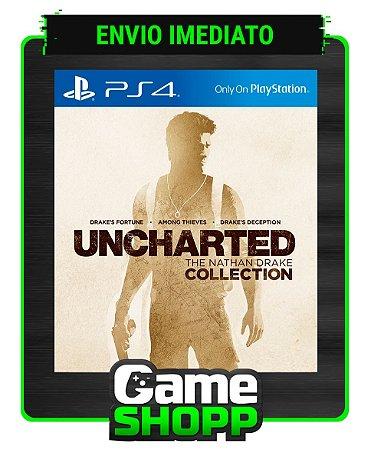 Uncharted The Nathan Drake Collection  - Ps4 - Edição Padrão - Primária