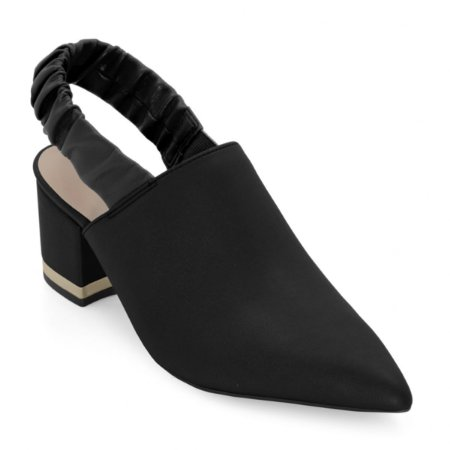 Sapato Mariotta Bico Fino Traseiro Aberto