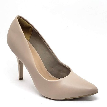 Sapato Hellen Suzan Bico Fino Salto 9 Napa Sand