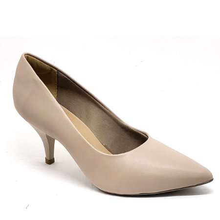 Sapato Hellen Suzan Bico Fino Salto 7 Napa Sand