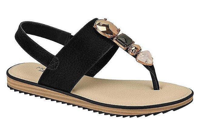 Sandália Modare Napa Floather Glossy Preto