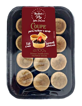 Tortinha COUPE Sablé Doce - 12unid