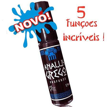Analliz Grego Profundo Spray (Excitante Multi Açao) 15Ml Topgel
