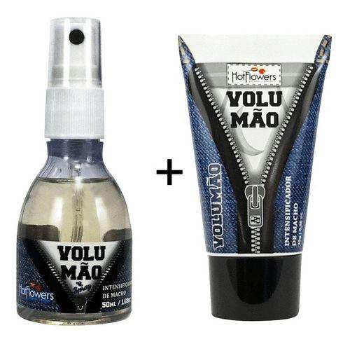 Kit Volumão Spray Entumecedor + Gel Volumão + Prazer