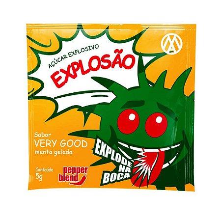 Bala Em Pó Explosão Very Good 5g Pepper Blend - Menta Gelada