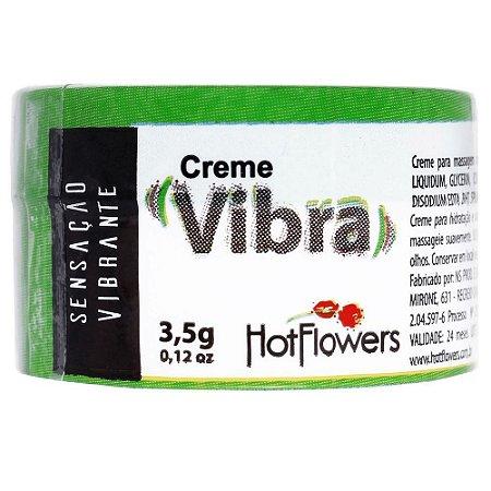 Creme Funcional Vibra 3,5g Hot Flowers