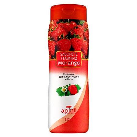 Sabonete Intimo 210ml Apinil - Morango