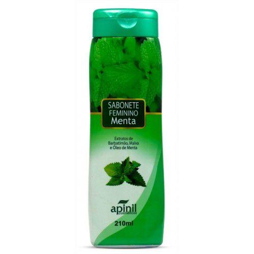 Sabonete Intimo 210ml Apinil - Menta