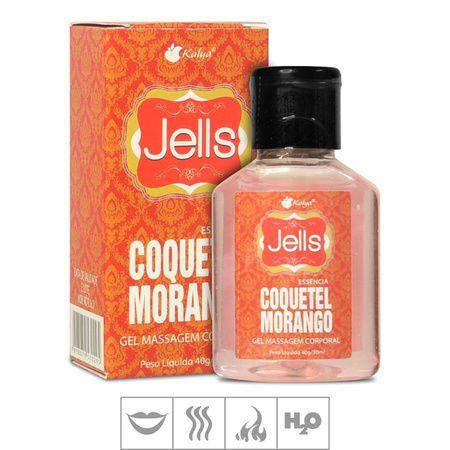 Gel Comestível Jells Hot 30ml - Coquetel Morango