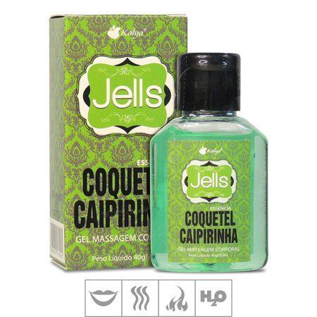 Gel Comestível Jells Hot 30ml - Coquetel Caipirinha