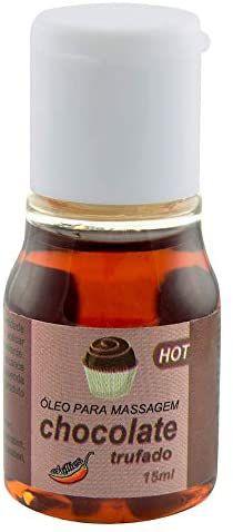 Gel Comestível Aromatizante Hot 15ml - Chocolate Trufado
