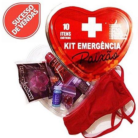 Kit Emergência Paixão 10X1 Jeito Sexy