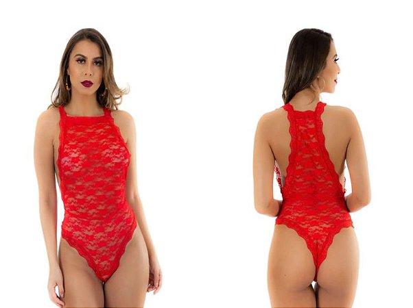 Body Sensual Paixão Pimenta Sexy Vermelho